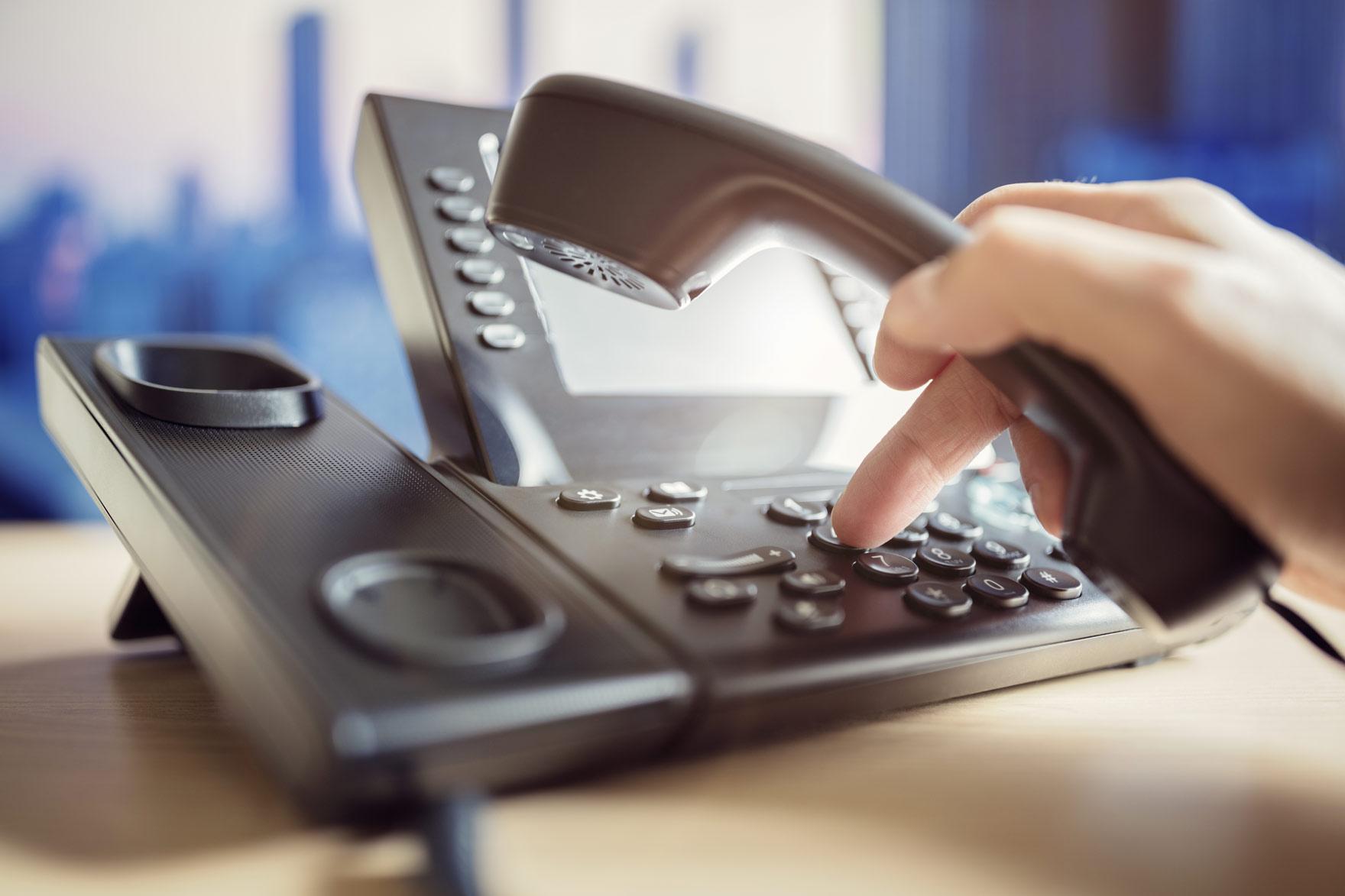 Pager und Telefone häufig besiedelt